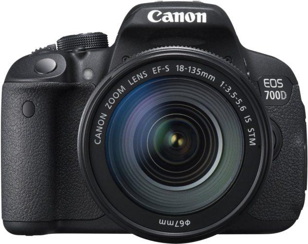 Canon EOS 700D Spiegelreflexkamera Test