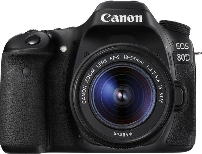 Canon EOS 80D Spiegelreflexkamera Test