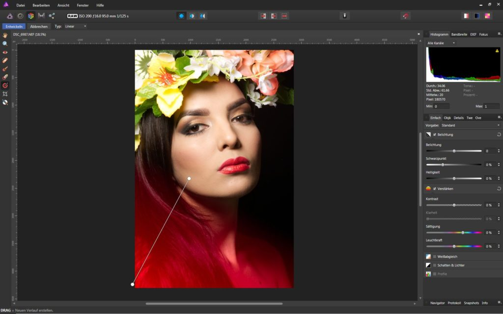 Affinity Photo Develop Persona